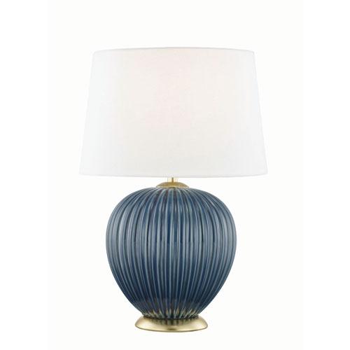 Jessa Denim Blue Table Lamp