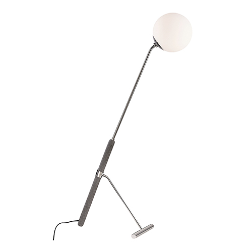 Brielle Polished Nickel One-Light Floor Lamp