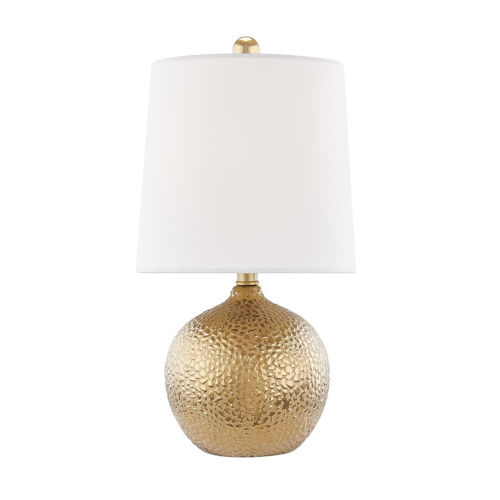 Heather Gold One-Light Table Lamp