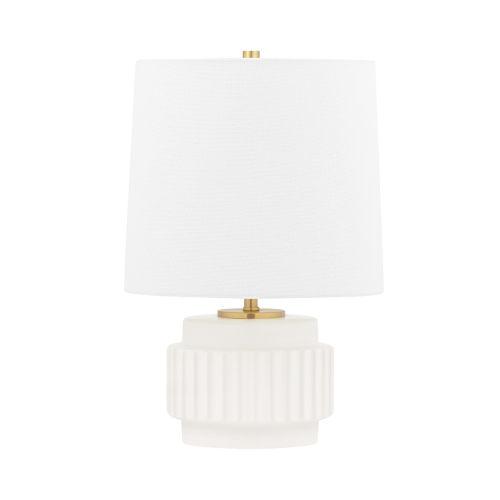 Kalani Matte White One-Light Accent Table Lamp