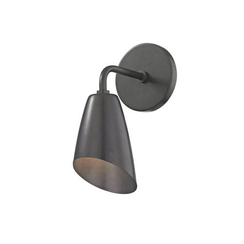 Mitzi by Hudson Valley Lighting Kai Old Bronze 5-Inch LED Wall Sconce