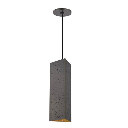 Aiko Old Bronze 5-Inch LED Mini Pendant