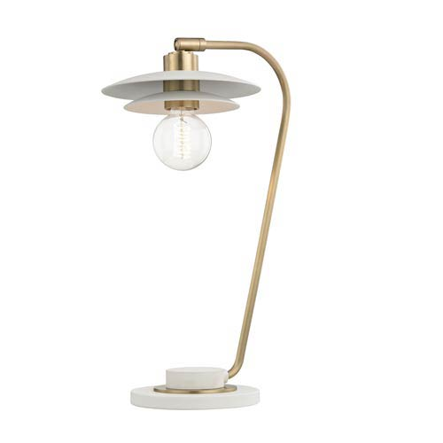 Milla Aged Brass 8-Inch One-Light Table Lamp