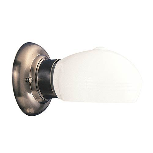 Edison Satin Nickel One-Light Downlight Wall Sconce