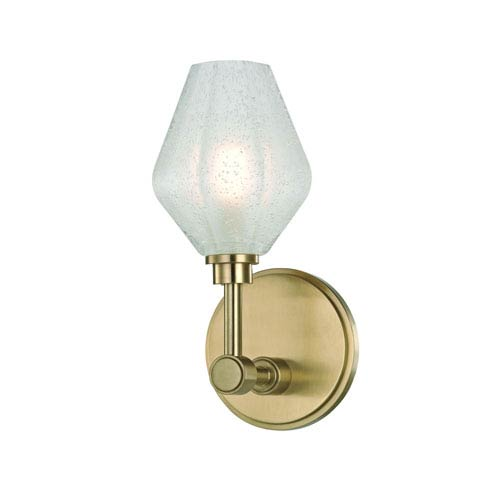 Orin Aged Brass LED Bath Sconce