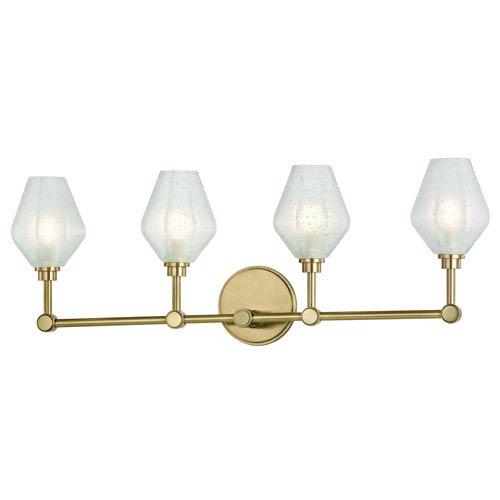 Orin Aged Brass LED Bath Vanity