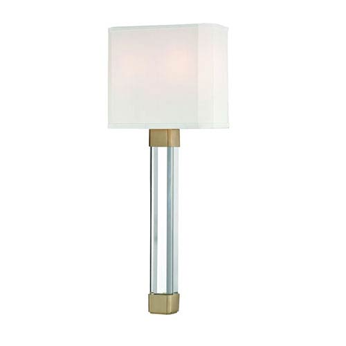 Larissa Aged Brass Two-Light Wall Sconce