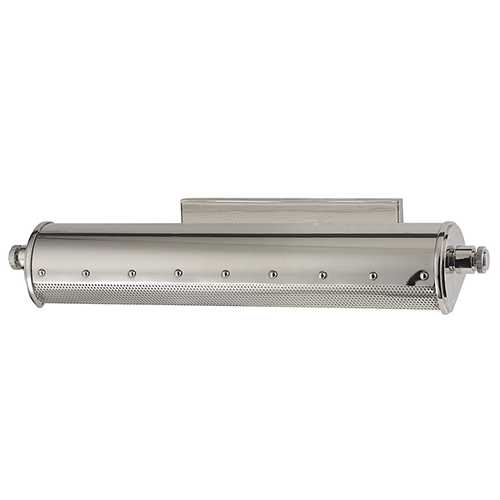 Gaines Polished Nickel Two-Light 18-Inch Wide Picture-Light