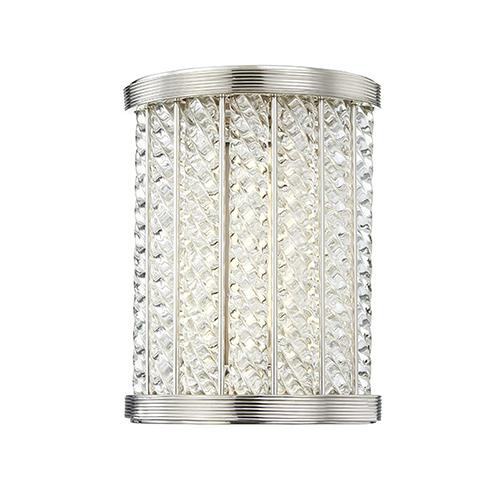 Hudson Valley Shelby Polished Nickel LED 6.5-Inch Bath Light