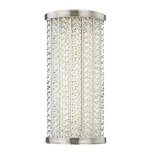 Shelby Polished Nickel LED 6.5-Inch Bath Light