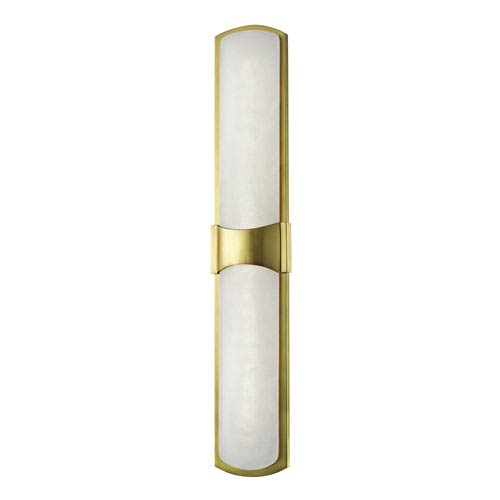 Valencia Aged Brass LED Wall Sconce