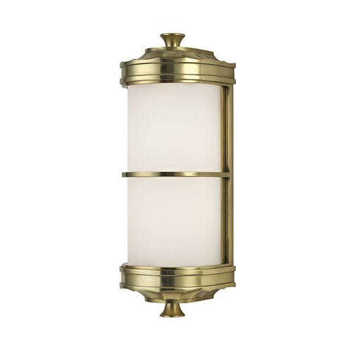 Albany Aged Brass One-Light Wall Sconce