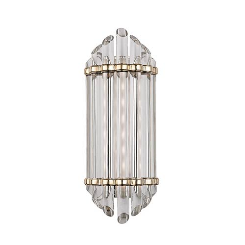Albion Aged Brass LED Energy Star Eight-Light Bath Vanity