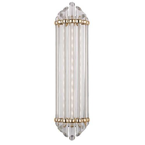 Hudson Valley Albion Aged Brass LED Energy Star 14-Light Bath Vanity