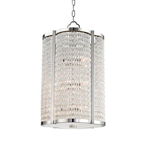Ballston Polished Nickel 12-Light Pendant
