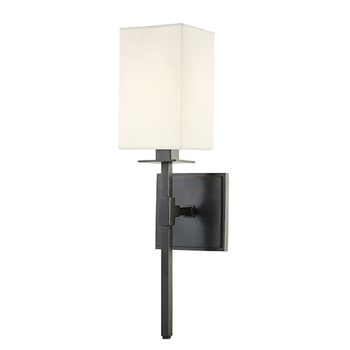 Hudson Valley Taunton Old Bronze 1-Light 4.5-Inch Wall Sconce