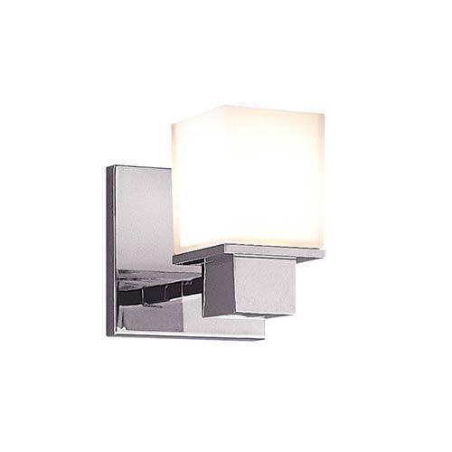 Milford Polished Chrome One-Light Bath Fixture