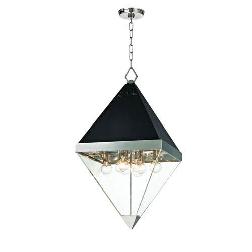 Hudson Valley Coltrane Polished Nickel Eight-Light Pendant