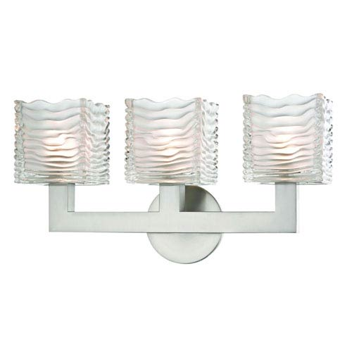 Hudson Valley Sagamore Satin Nickel LED Bath Sconce