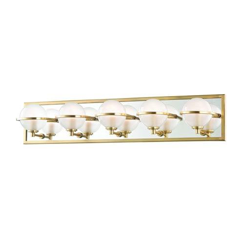 Axiom Aged Brass LED Bath Vanity