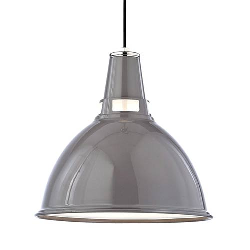 Hudson Valley Lydney Gray One-Light Pendant