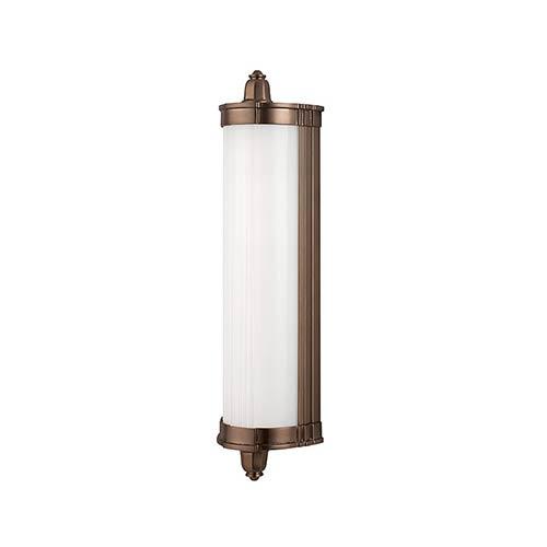 Hudson Valley Nichols Brushed Bronze LED Eight-Light Bath Light Fixture - Brushed Bronze Finish