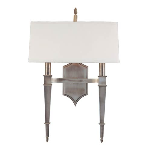 Norwich Historic Nickel Two-Light Sconce