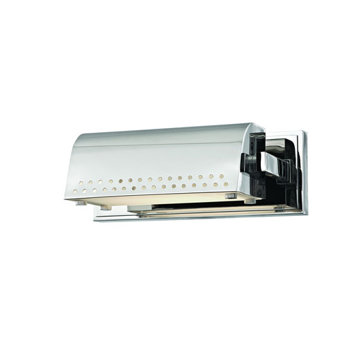 Garfield Polished Nickel 10-Inch LED Picture Light