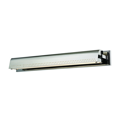 Garfield Polished Nickel 26-Inch LED Picture Light