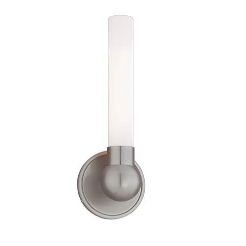 Hudson Valley Cornwall Satin Nickel One-Light Bath Light