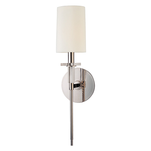 Amherst Polished Nickel Wall Sconce