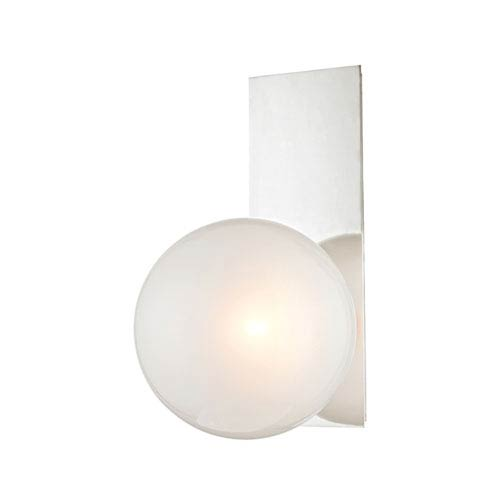 Hinsdale Polished Nickel One-Light Wall Sconce