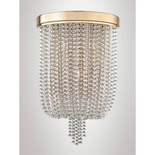 Royalton Aged Brass Three-Light Wall Sconce