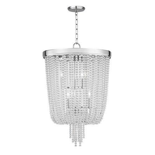 Royalton Polished Nickel Eight-Light Chandelier
