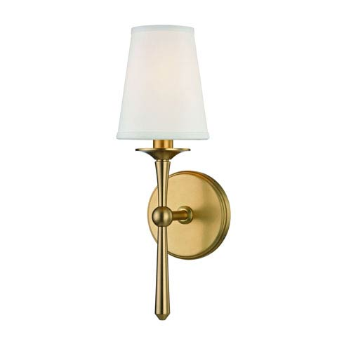 Islip Aged Brass One-Light Wall Sconce