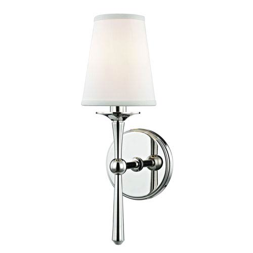Hudson Valley Islip Polished Nickel One-Light Wall Sconce