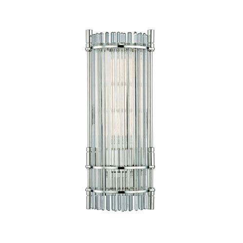 Grant Polished Nickel One-Light Wall Sconce