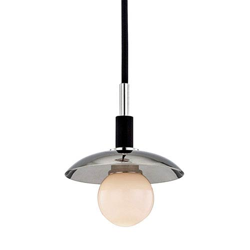 Julien Polished Nickel LED 5-Inch One-Light Mini Pendant