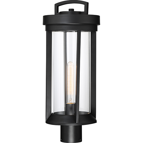 Huron Aged Bronze One-Light 11-Inch Post Lantern
