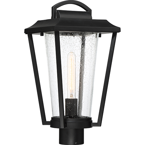 Lakeview Aged Bronze One-Light Eight-Inch Post Lantern
