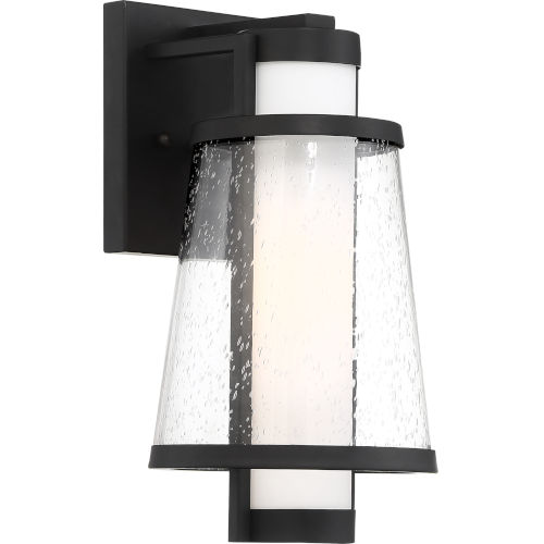 Anau Black 7-Inch One-Light Outdoor Wall Lantern