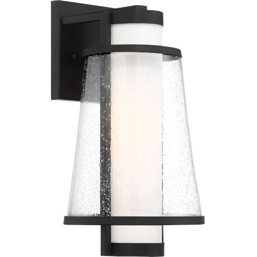 Anau Black 8-Inch One-Light Outdoor Wall Lantern