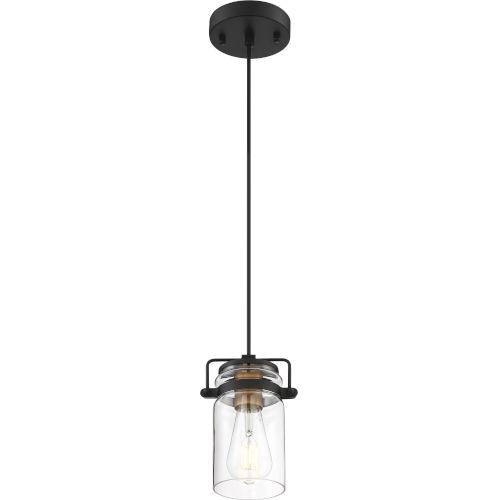 Antebellum Black One-Light Mini-Pendant