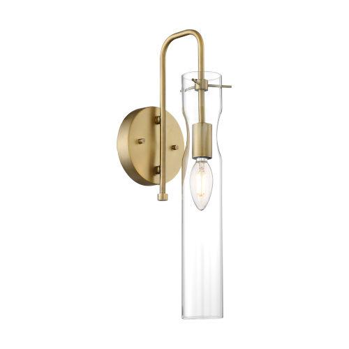 Spyglass Vintage Brass One-Light Wall Sconce