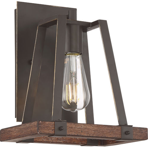 Outrigger Bronze One-Light Wall Sconce