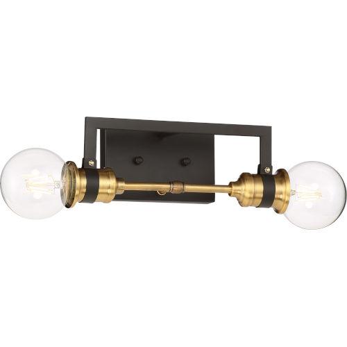 Intention Brass Two-Light Vanity