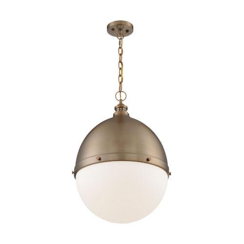 Ronan Burnished Brass 25-Inch One-Light Pendant