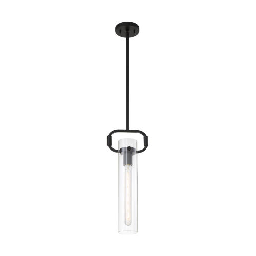 Teresa Matte Black 20-Inch One-Light Pendant