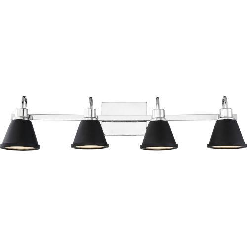 Bette Nickel Four-Light LED Vanity