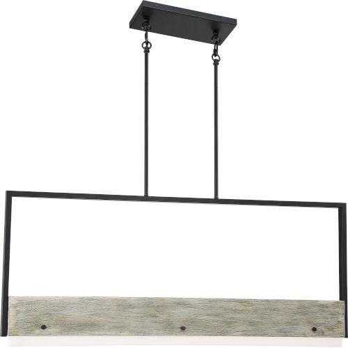 Alta Wood One-Light LED Mini-Pendant